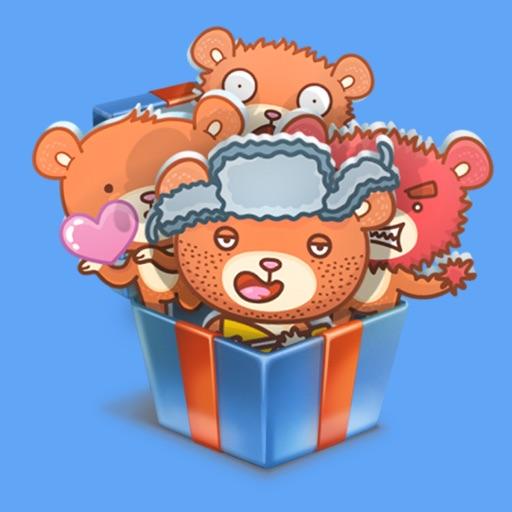 Bear STiK Sticker Pack