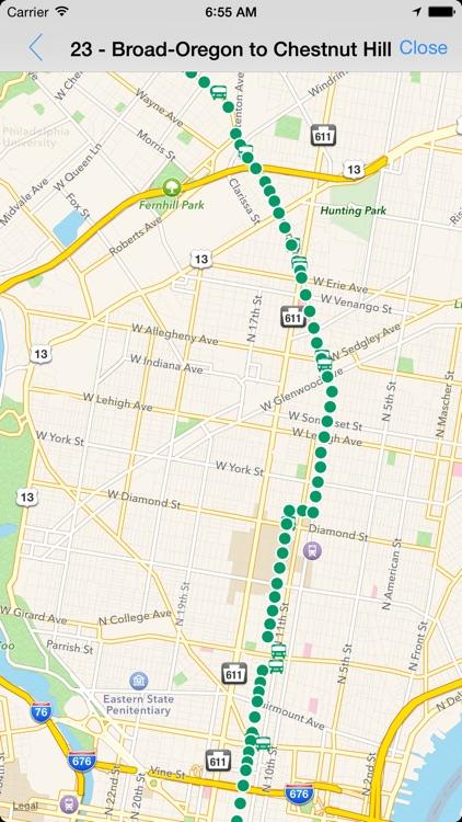 Transit Tracker - Philly
