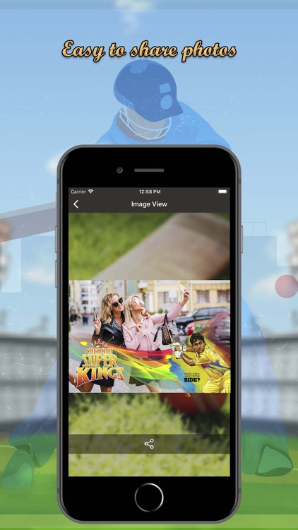 IPL 2018 Selfie Photo Maker screenshot-3