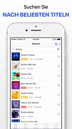 welche app für musik iphone ohne internet