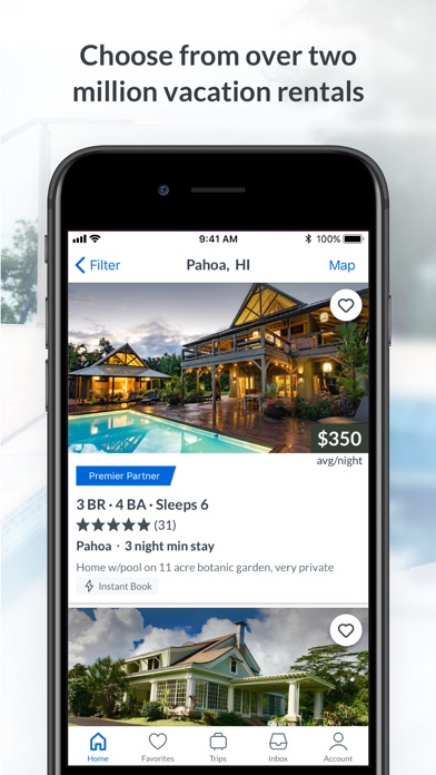 HomeAway Vacation Rentals for Windows