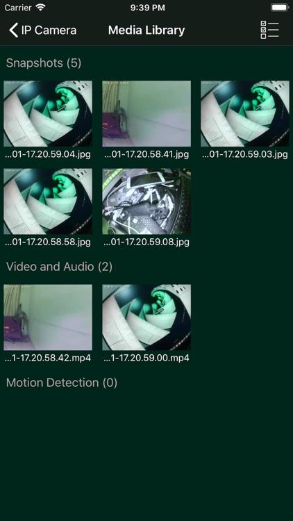 IP Camera WITH Motion Detect screenshot-4