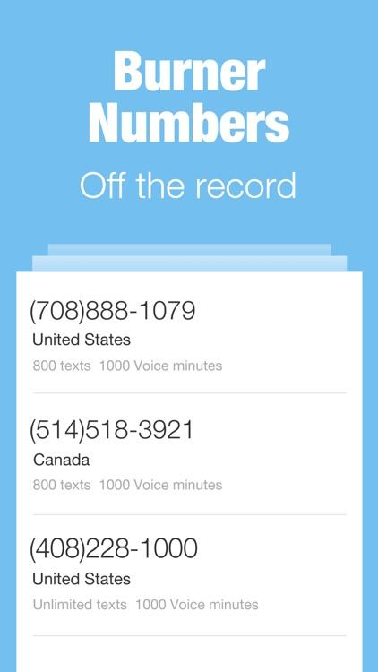 Sentry Private Texting & Calls