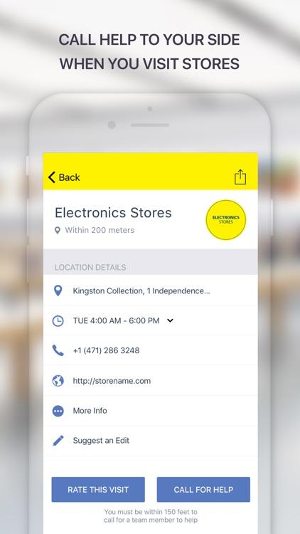 Floorwatch: Get help in stores