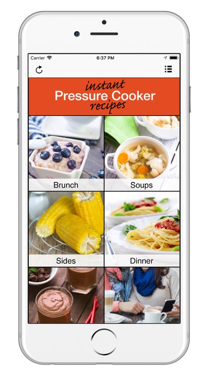 Instant Pressure Cooker App screenshot-0