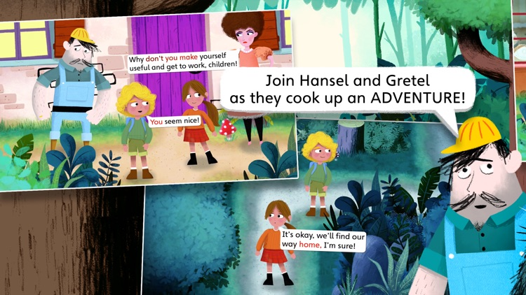 Hansel and Gretel by Nosy Crow screenshot-0