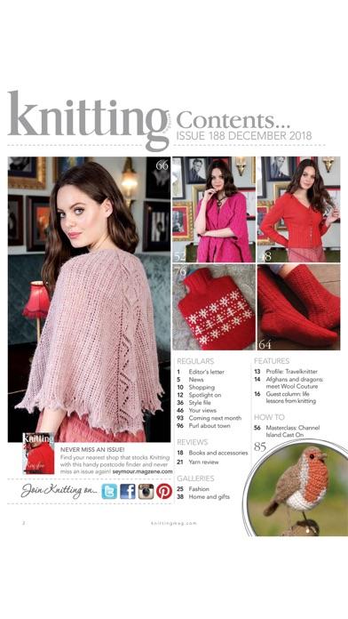 Knitting Magazine review screenshots