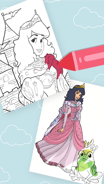 Princess - Coloring Pages