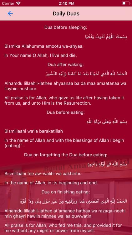 Prayer Timetable KTBAM screenshot-7