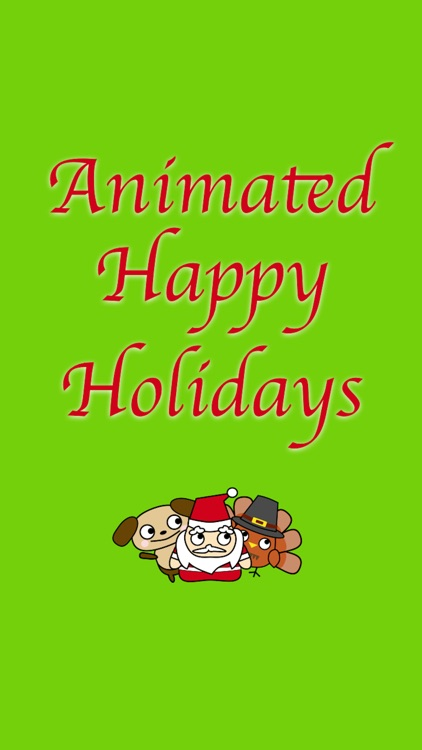 Animated Happy Holidays