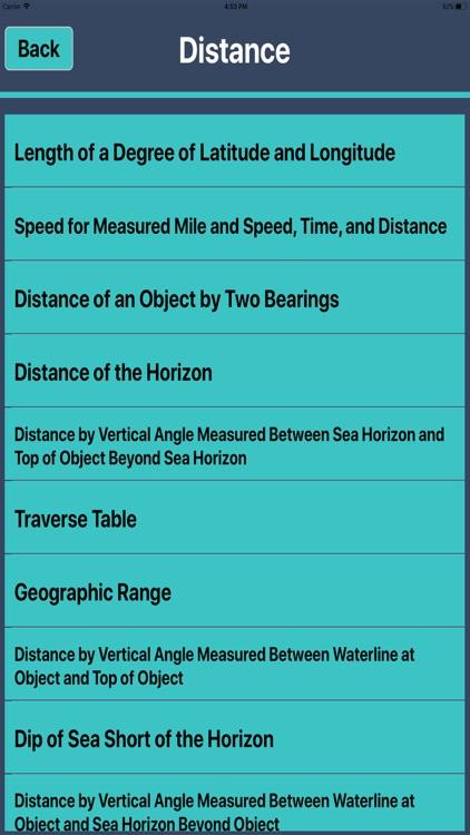 Nautical Calculator mariners
