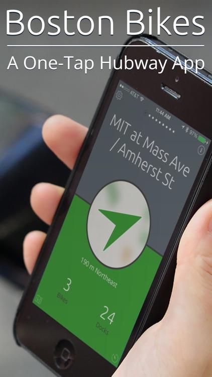 Boston Bikes — A One-Tap Hubway App