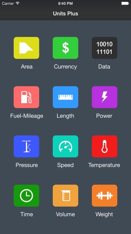Units Plus Converter screenshot-0