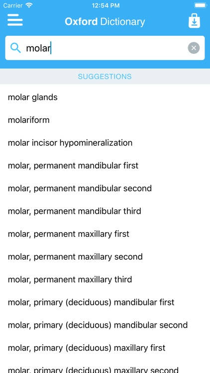 Oxford Dictionary of Dentistry screenshot-4