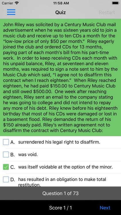 Contracts & Sales: Supreme Bar screenshot-4