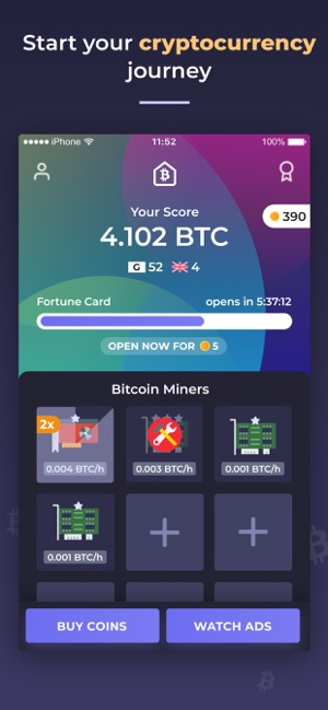 Bitcoin Mining Tycoon Game On The App Store -