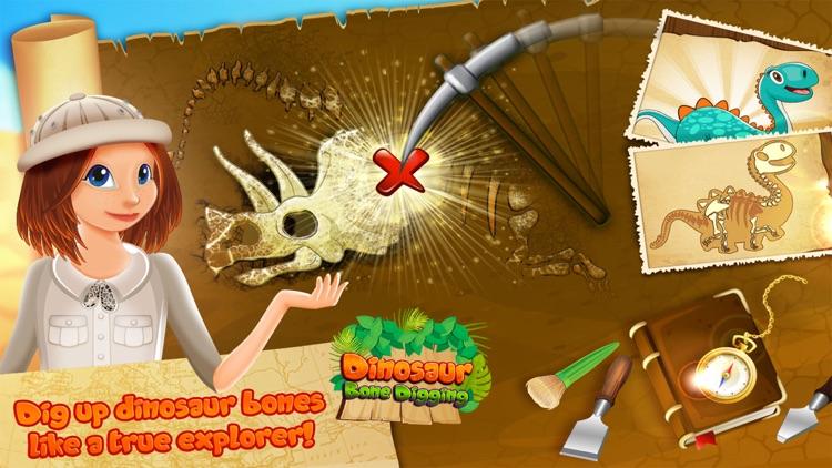 Dinosaur Bone Digging Puzzles