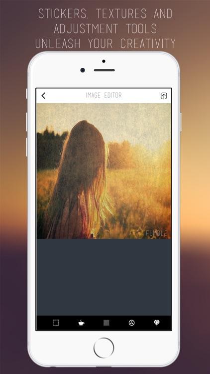 Fumble Photo Share Editor screenshot-3