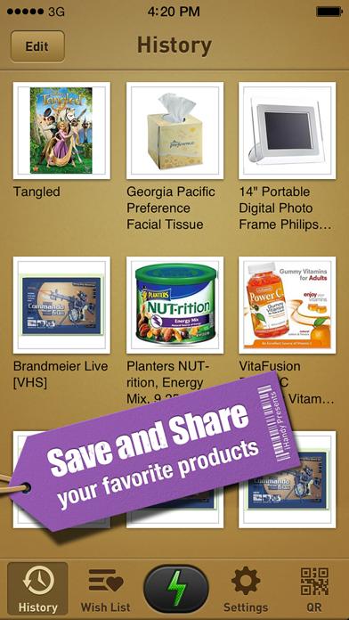 cancel 퀵 스캔 - 모든 제품의 최저 가격을 찾으세요! Android 용 2