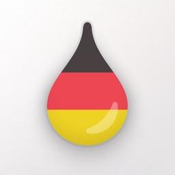 Learn German language - Drops