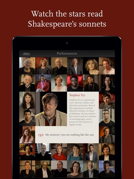 Shakespeare's Sonnets screenshot-0