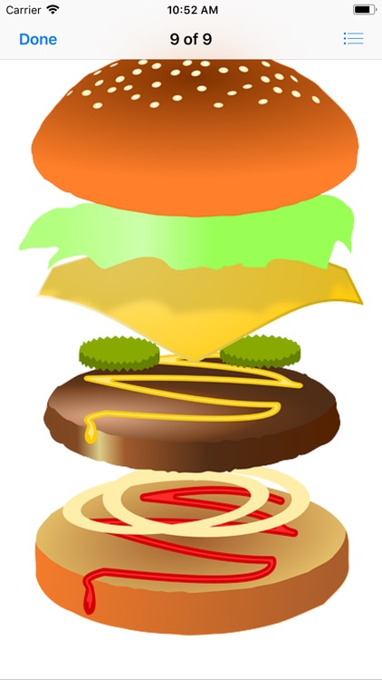 Heavenly Hamburger Stickers screenshot-9