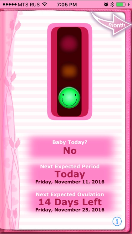 Maybe Baby™ Period, Fertility & Ovulation Tracker