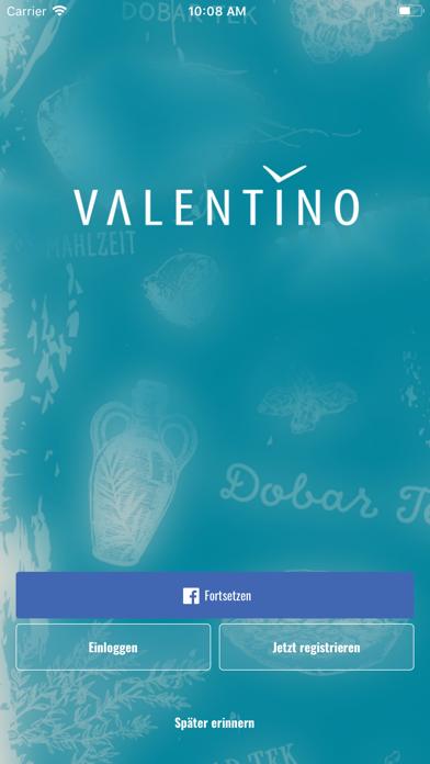 Valentino screenshot one