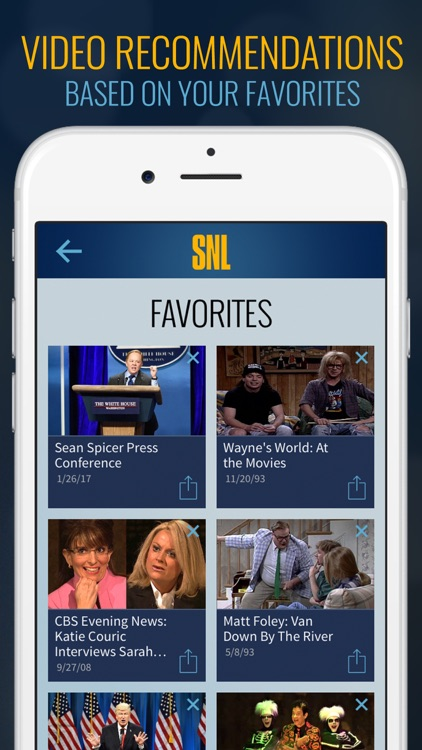The SNL Official App on NBC screenshot-4