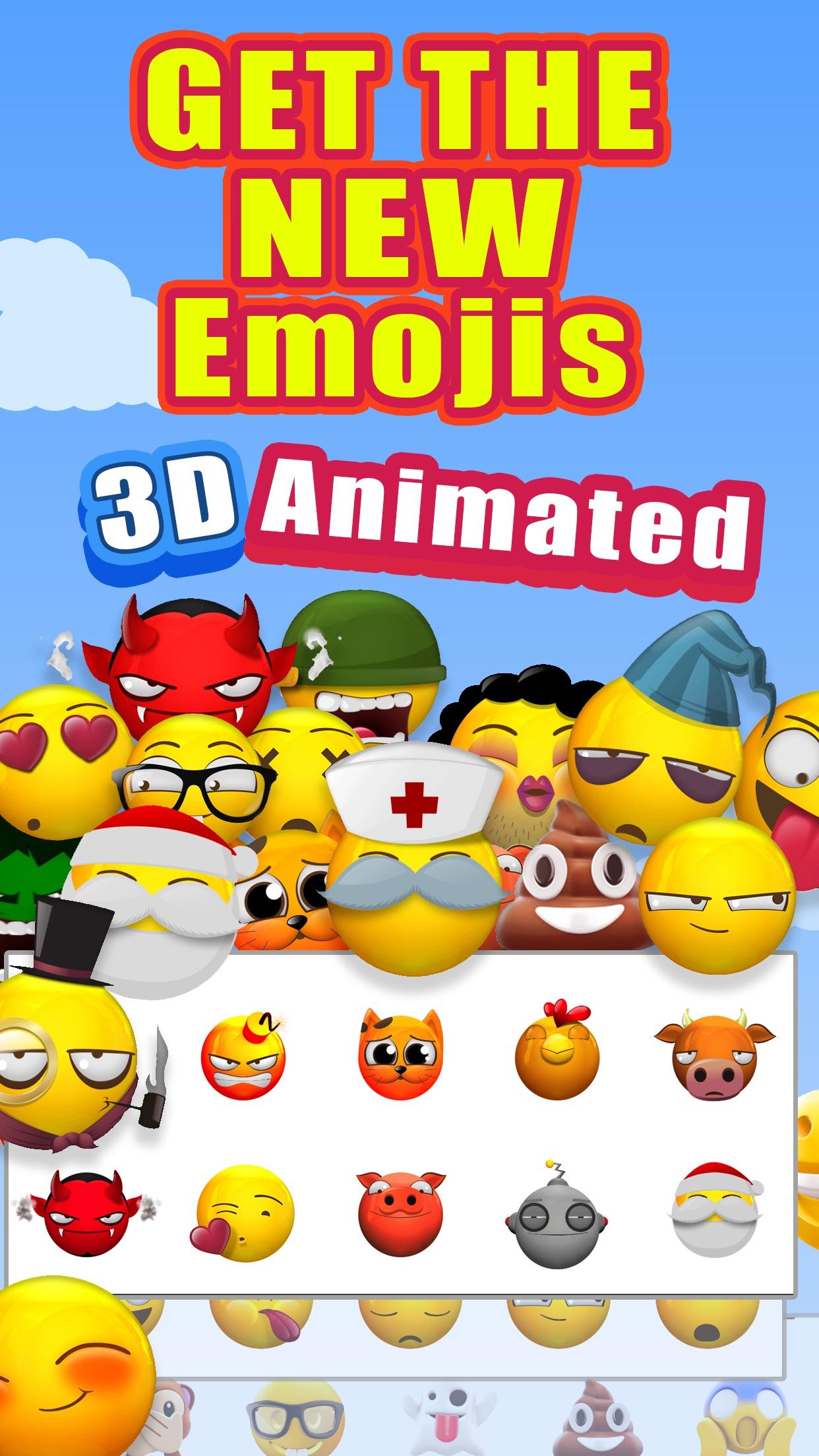 New 3D Emojis Animated Emoji Screenshot