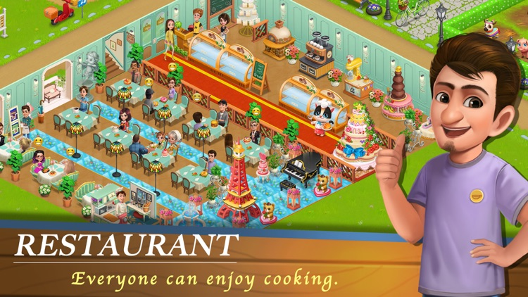 Cafe Story - Cooking Game