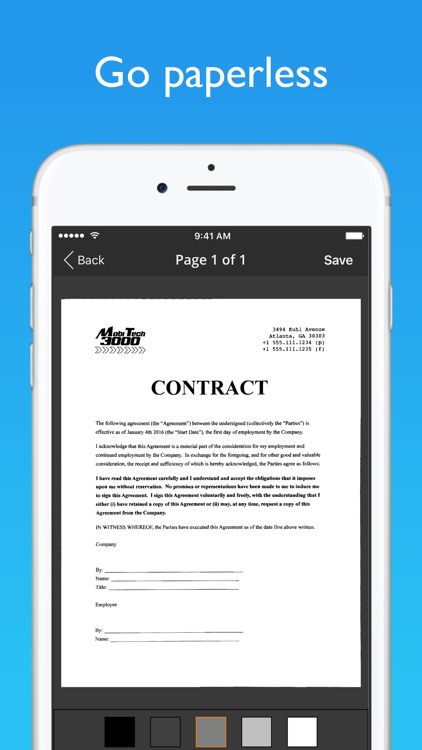 JotNot Scanner App screenshot-1