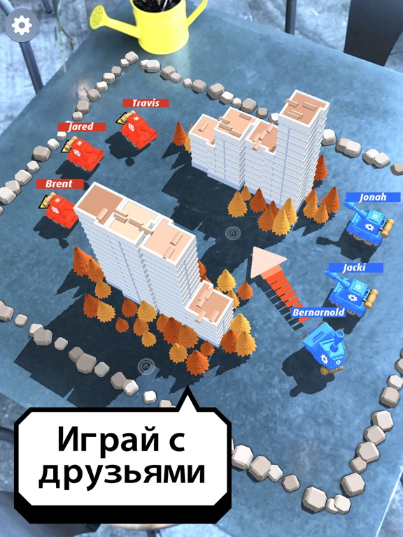 Smash Tanks! - AR Board Game для iPad