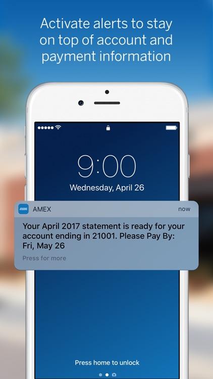 Amex Mobile screenshot-4