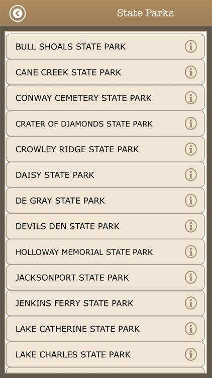 Arkansas Camps & Trails,Parks screenshot-4