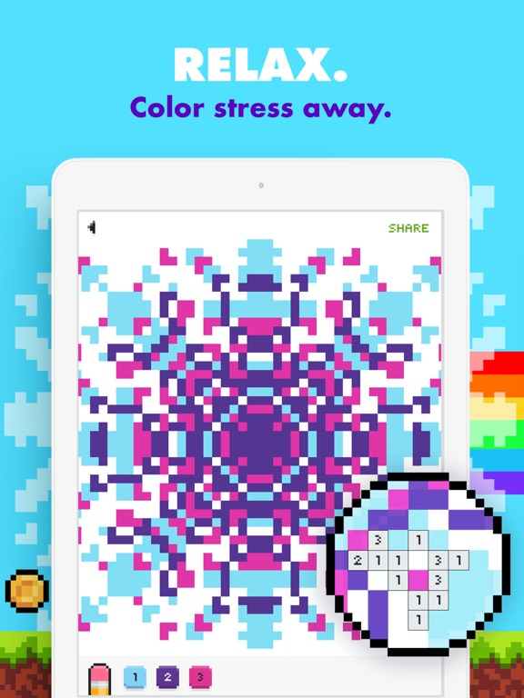 UNICORN - Color by Number Game screenshot 7