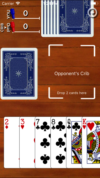 Cribbage Classic by Games By Post LLC (iOS, United States