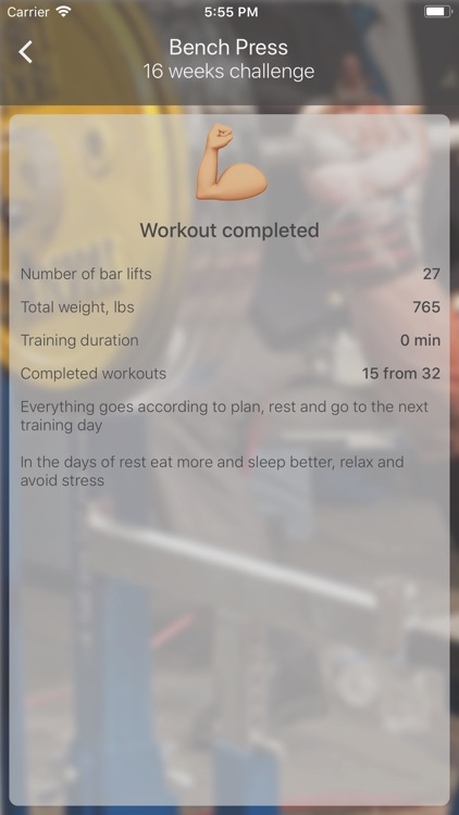 Bench Press 16 weeks screenshot-6