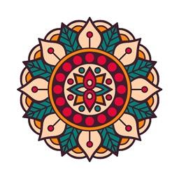 Relaxing Mandala Colorbook