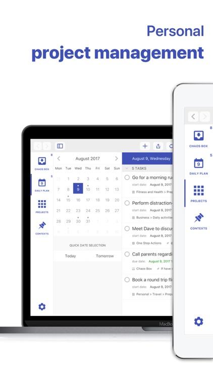 Chaos Control™: GTD Task List screenshot-0