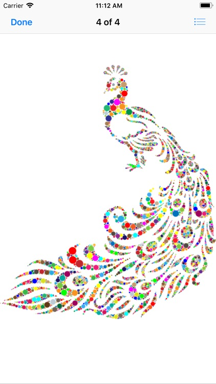 Pretty Peacock Stickers screenshot-5