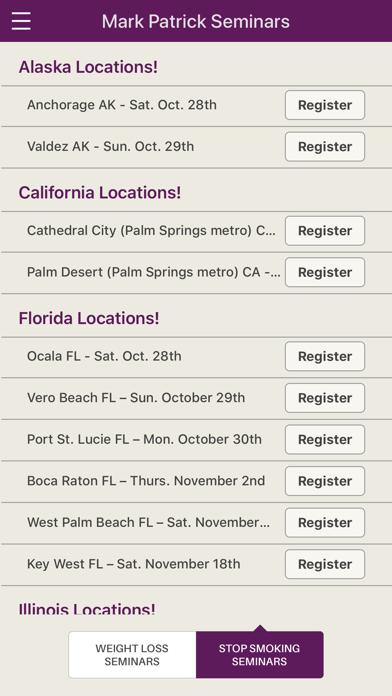 Mark Patrick Seminars App screenshot four