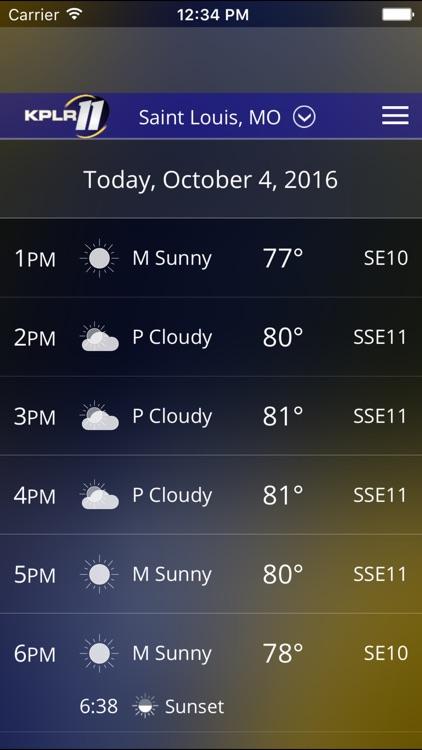 KPLR News 11 St Louis Weather screenshot-3