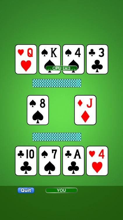 Speed (aka. Spit) : Card Game