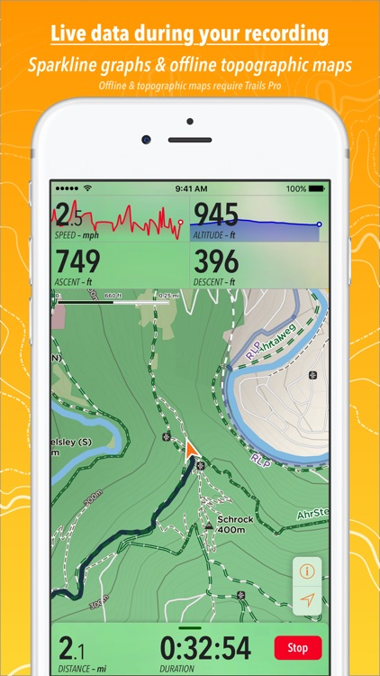 Trails · Outdoor GPS Logbook screenshot-4