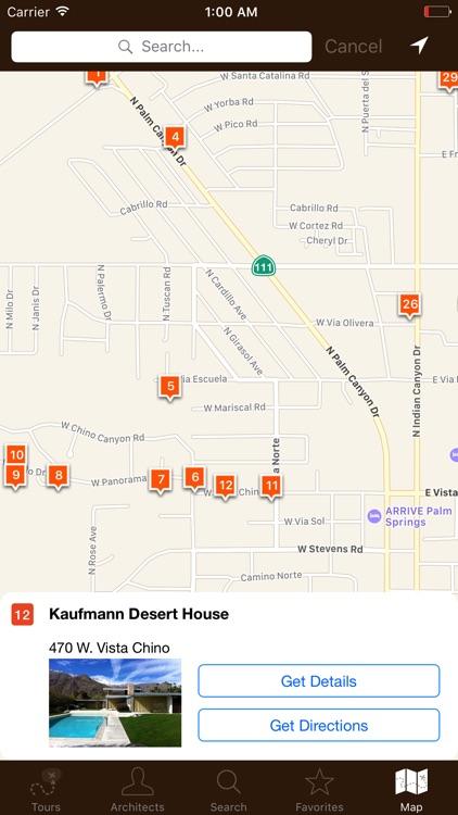 Palm Springs Modernism Tour screenshot-4