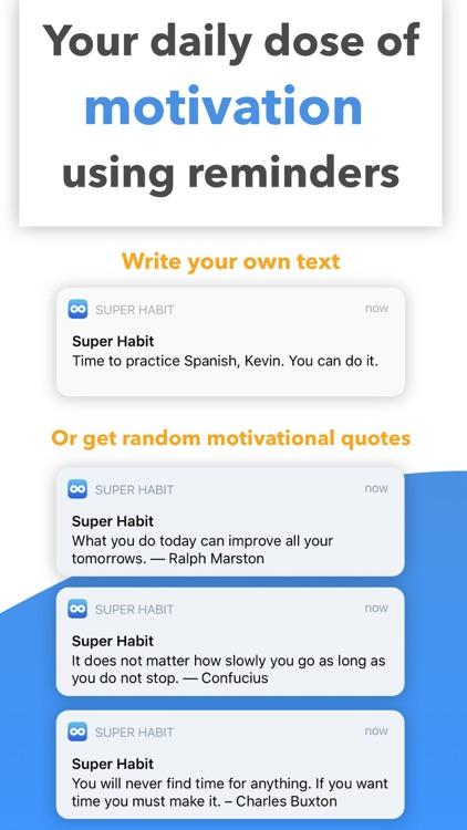 Super Habit Tracker & Streaks screenshot-3