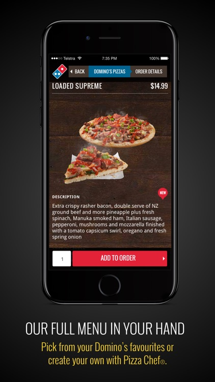 Domino's NZ screenshot-2