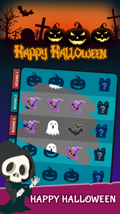 Scratch Game - Halloween Night by Tang Xin (iOS, United States