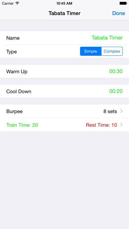 Tabata Timer Pro Training screenshot-4